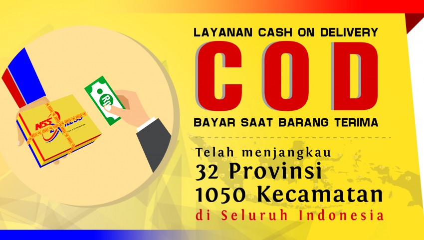 Jangkauan Layanan Cash On Delivery (COD) NSS Express
